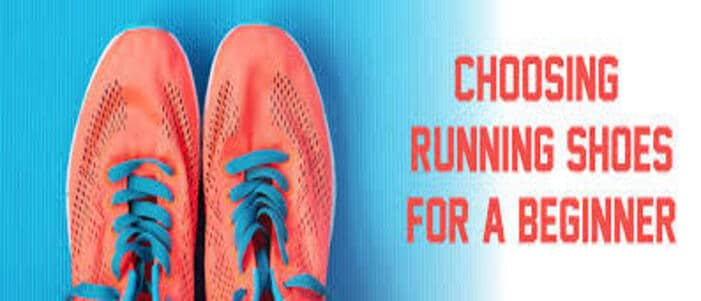 choosing the running shoes for beginners