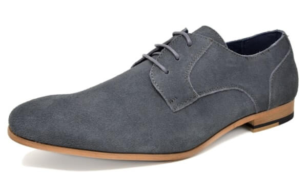 Bruno Marc Mens Suede Leather Oxford