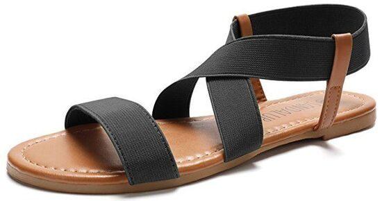 best sandals for flat feet women's