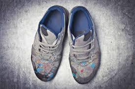 Remove Dry Paint from Shoes?