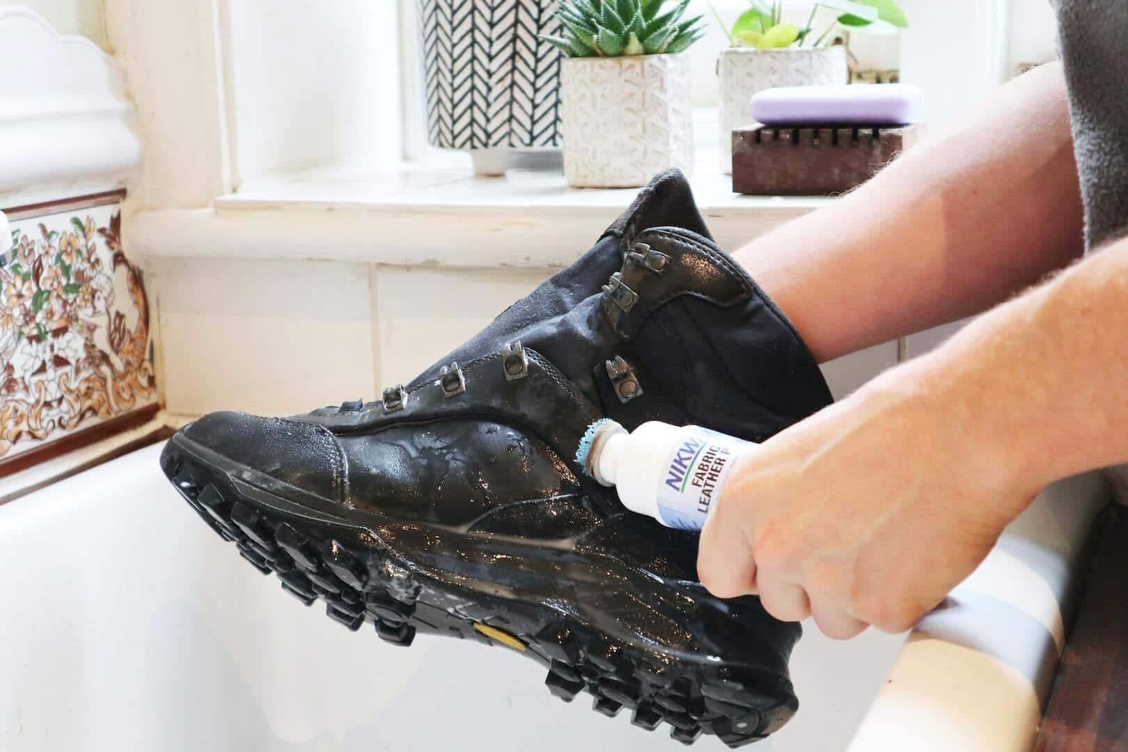 BOOTS CAN BE MACHINE DRIED