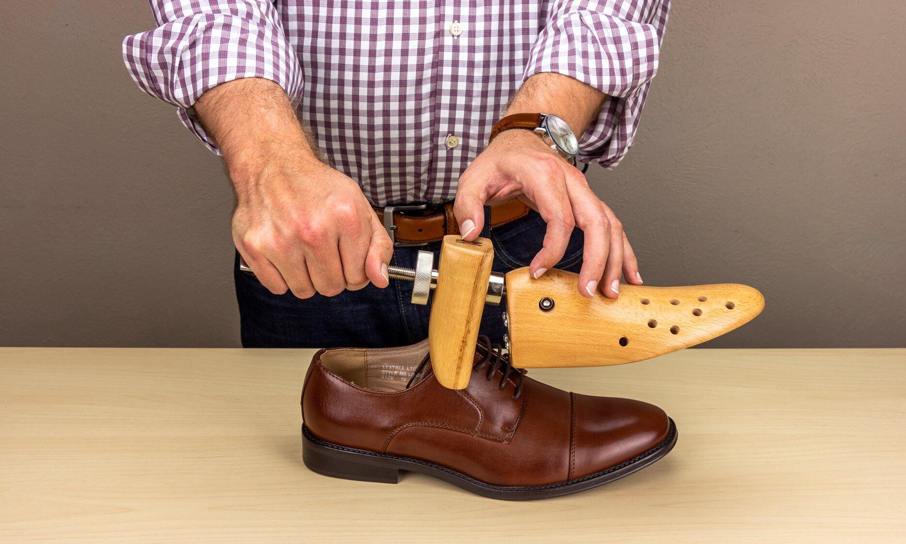 Use a Shoe Stretcher