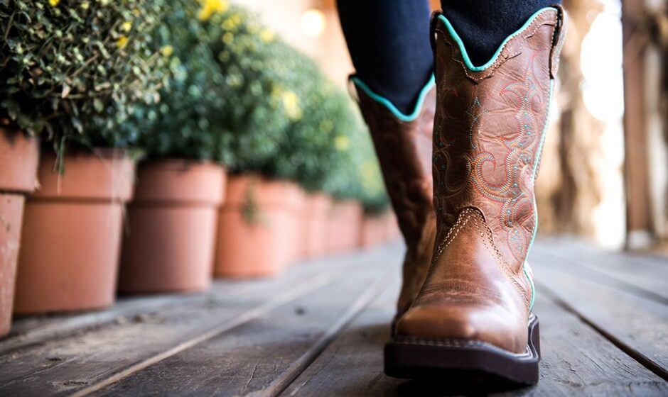 How To Polish Cowboy Boots With Stitching