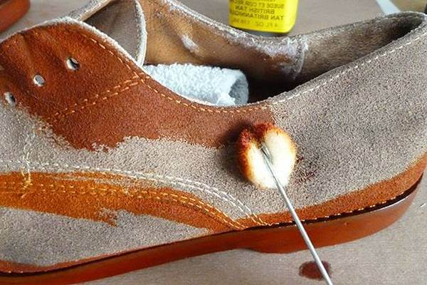 Making of Suede Shoes