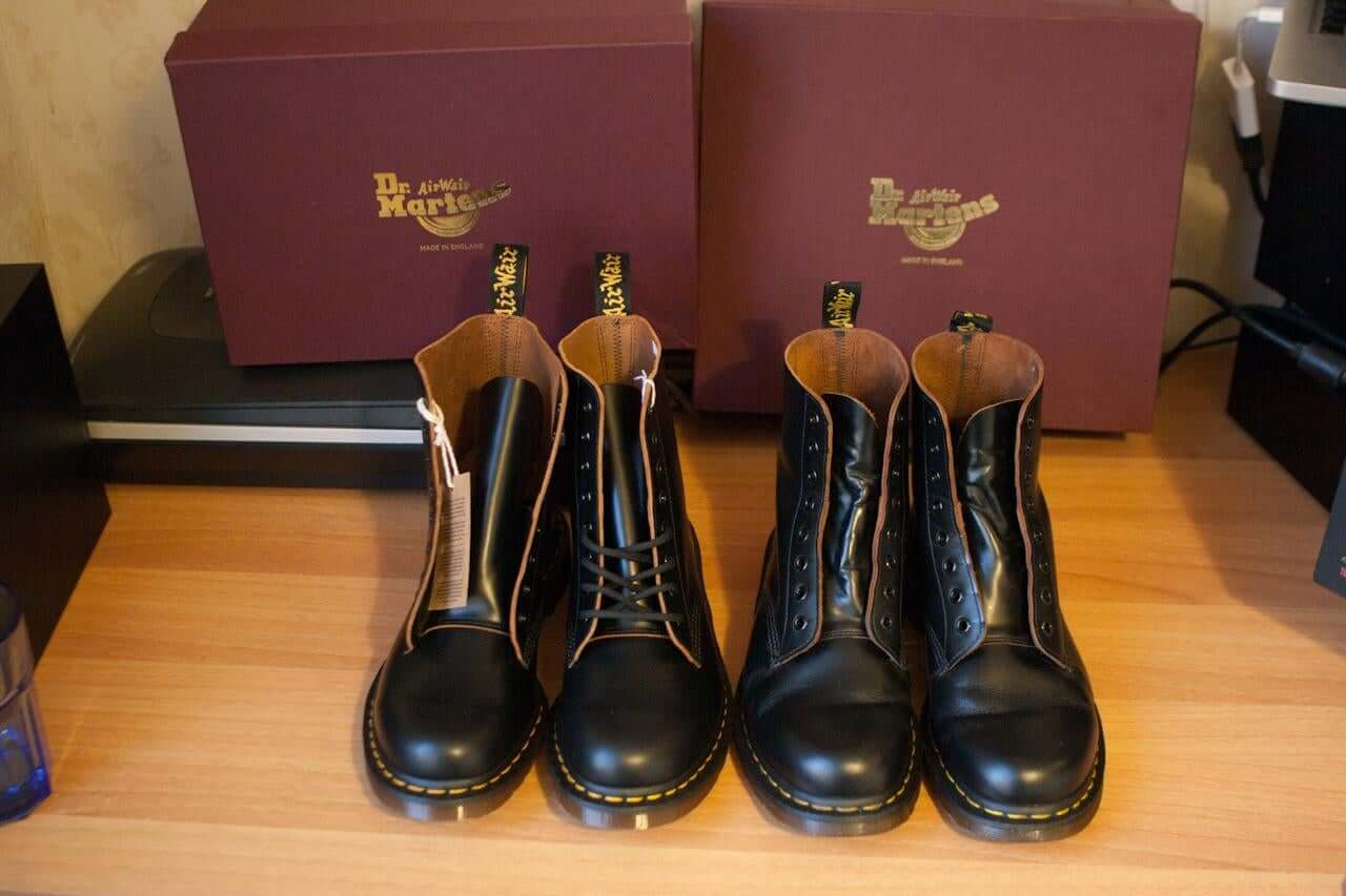 What are Doc Martens Made of